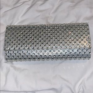 Call It Spring Silver Clutch